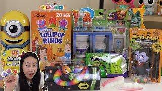 Download Jenny play 할로윈 과자 2편 미스테리팩 장난감 불량식품 섞어섞어 제니 장난감 놀이 Video