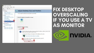 Download Fix Desktop Overscaling If you Use a TV as Monitor Video