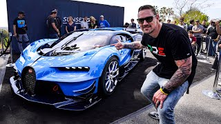 Download $8 MILLION BUGATTI VISION GT CAUSES CHAOS !! *Special Delivery* Video