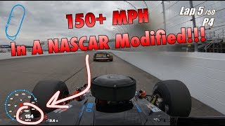 Download 150+ MPH In A NASCAR Modified at New Hampshire Motor Speedway! Video