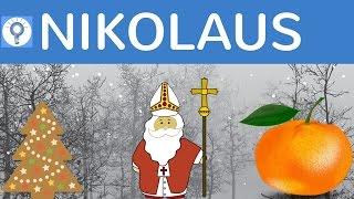 Download Wer war Nikolaus? Woher kommt der Brauch? Allgemeinwissen einfach erklärt Video