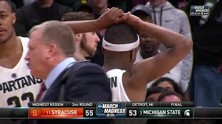 Download Syracuse takes down Michigan State to advance to the Sweet 16 Video