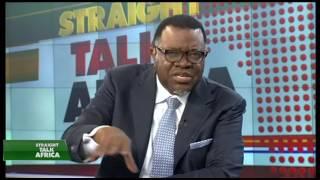 Download Namibian President Hage Geingob on Straight Talk Africa Video
