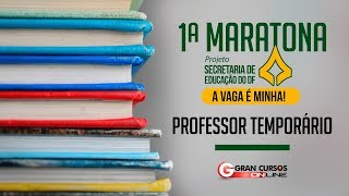 Download 1ª Maratona SEE-DF | Professor Temporário Video