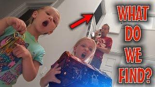 Download Exploring the Secret Hidden Room! Someone's Living Behind the Door!!! Video
