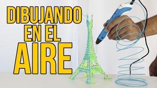 Download Cómo dibujar en el AIRE - LÁPIZ 3D ¿MERECE LA PENA? (Experimentos Caseros) Video