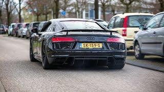 Download Sportscars Accelerating - Capristo R8, 745HP RENNtech C63, Nissan GT-R, Milltek RS6, 700HP S8,... Video