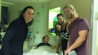 Download Stars of 'Thor' Surprise Little Boy Who Suffered Brain Injury By Saving Brother Video
