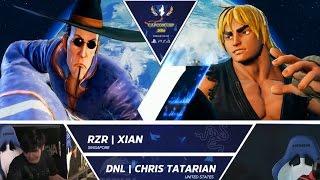 Download SFV: RZR Xian vs DNL Chris Tatarian - Capcom Cup Day 1 Top 32 - CPT2016 Video
