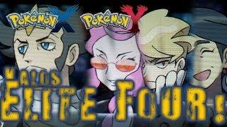 Download Tekking Vs. Kalos Elite Four (Pokemon X) Video