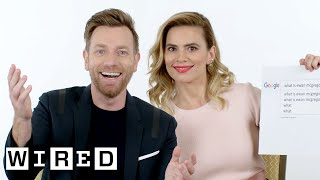 Download Ewan McGregor & Hayley Atwell Answer the Web's Most Searched Questions | WIRED Video