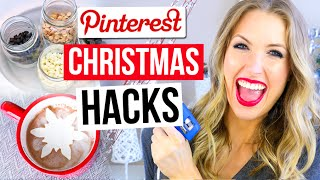 Download Pinterest Hacks TESTED #7 || CHRISTMAS EDITION Video