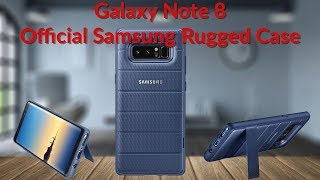 Download Galaxy Note 8 Official Samsung Rugged Case With Kickstand - YouTube Tech Guy Video