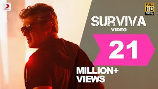 Download Vivegam - Surviva Official Song Video | Ajith Kumar | Anirudh | Siva Video
