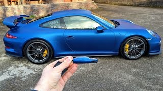 Download Wrapping My Porsche 991 GT3 Blue by Signature Group Video