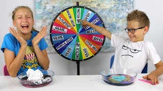 Download Mystery Wheel of Slime Switch-Up Challenge!!! Video