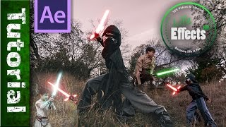 Download Advanced Lightsaber Animation with motion tracking in After Effects 🔦 A Saber Tutorial Video