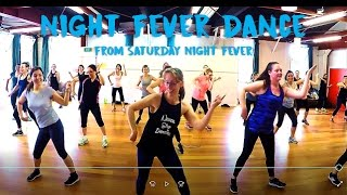 Download SATURDAY NIGHT FEVER LINE DANCE (″THE BROOKLYN SHUFFLE″) - SEE ALSO: https://vimeo/user73766291 Video