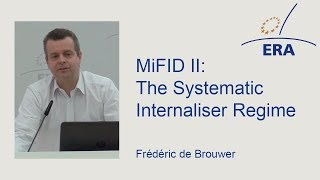 Download MiFID II: The Systematic Internaliser Regime Video
