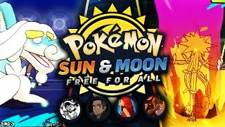 Download DRAMPA SPOTLIGHT! VS TheeMikeyJ, CraigMaster, Tensations! - Pokemon Sun and Moon FFA Video