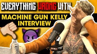 Download Everything Wrong With Machine Gun Kelly's Breakfast Club Interview Video