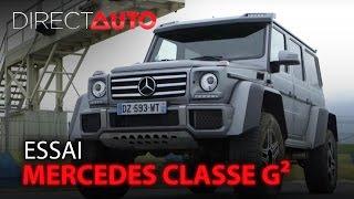 Download Essai - MERCEDES CLASSE G² - La plus dingue des SUV Video