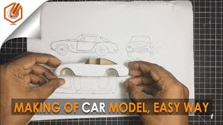 Download architecture MODEL MAKING OF CAR l simple trick, using cardbord Video
