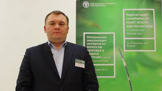 Download Interview with Andrii Chelombitko - Regional expert consultation on plant health and protection Video
