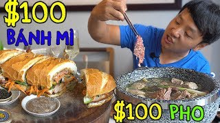 Download $100 DOLLAR Pho & $100 Bánh mì in Saigon Vietnam Video