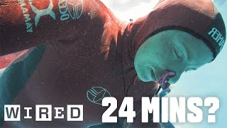 Download Why Holding Your Breath For 24 Minutes Is Almost Impossible | WIRED Video
