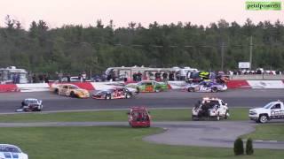 Download Flamboro Speedway APC United Late Model crash July 15, 2017 Video