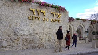 Download City of David and Hezekiah's Tunnel In Jerusalem Video