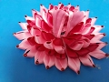 Download Make Lotus shape poshak with satin ribbon for Bal Gopal - Most easy way of making summer dress Video