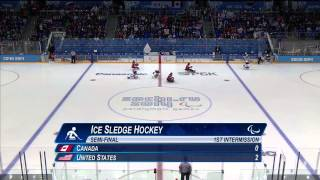 Download Canada v USA | Semi-final full game| Ice sledge hockey | Sochi 2014 Paralympic Winter Games Video