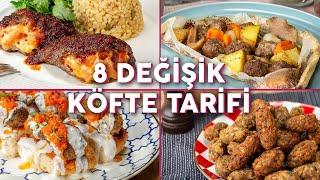 Download Klasik Köfte Yapmaktan Sıkılanlara 8 Değişik Köfte Tarifi - Köfte Tarifleri   Yemek Video
