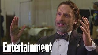 Download Andrew Lincoln: Jon Bernthal Was Terrified On First Day Of 'The Walking Dead' | Entertainment Weekly Video