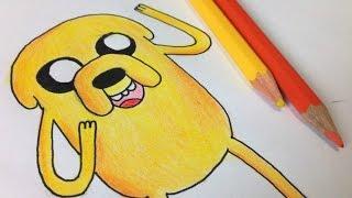 Download Como desenhar o Jake do Hora de Aventura | How to draw Jake from adventure time Video