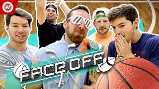 Download Dude Perfect Basketball Shootout | FACE OFF Video