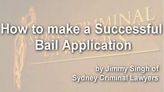 Download How to make a successful bail application Video