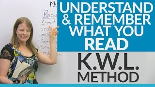 Download Read, Understand, and Remember! Improve your reading skills with the KWL Method Video