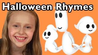 Download Ghost Family and More Halloween Rhymes | Nursery Rhymes from Mother Goose Club! Video