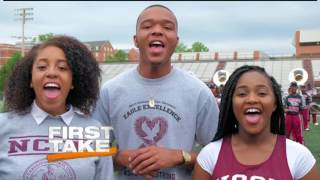 Download NCCU Featured on ESPN's First Take Video