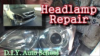 Download ″How To Fix A Broken Headlight″-Automotive Collision Tech Tips And Tricks Video