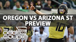 Download Oregon Ducks vs Arizona St Sun Devils | College Football Betting Preview | Week 4 Video