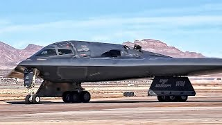 Download B-2 Bomber Flight Operations At Nellis AFB (2018) Video