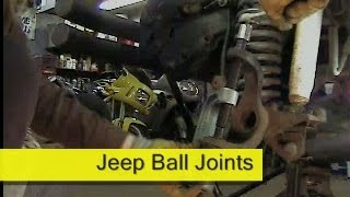 Download Jeep Ball Joint replacement how to DIY Dana 30 / 44 Video