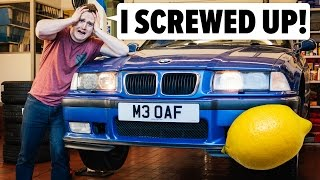 Download I Screwed Up By Buying An E36 M3 Lemon Video