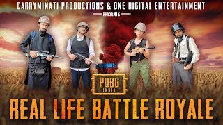Download PUBG INDIA: REAL LIFE BATTLE ROYALE Video