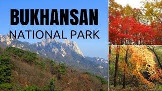 Download Hiking in Seoul, Korea visiting Mount Bukhansan National Park (북한산국립공원) Video