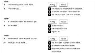 Goethe ösd Zertifikat B1 Hueber Verlag Modelltest 1 Hören B1